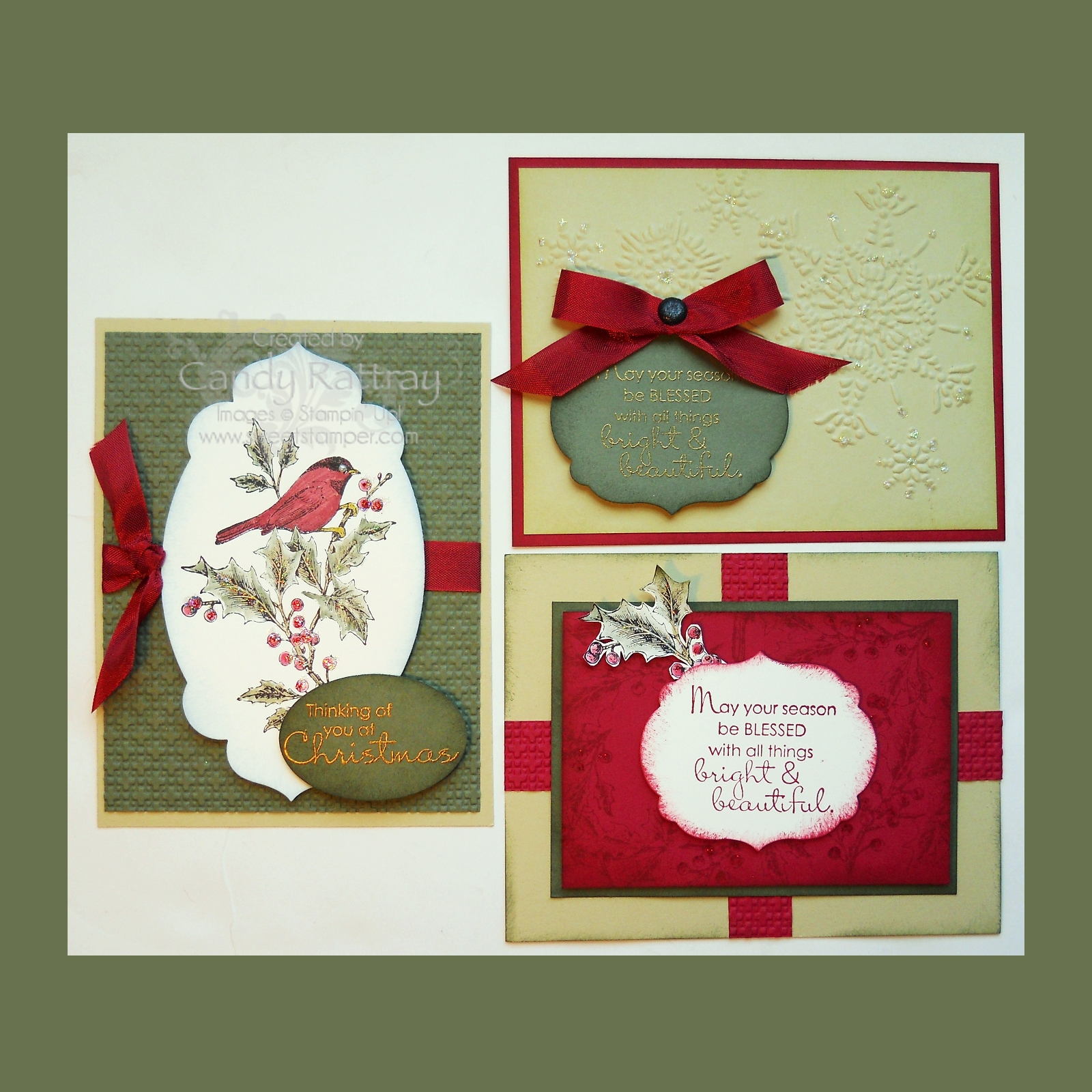 Christmas Card Class 2012 Debut with Beautiful Season Stamp Set ...