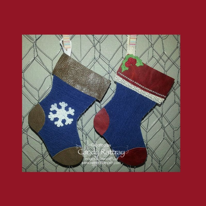 Holiday Stocking Die