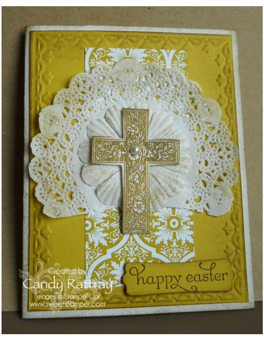 Easter Elegance Crosses Of Hope Sweet Stamper