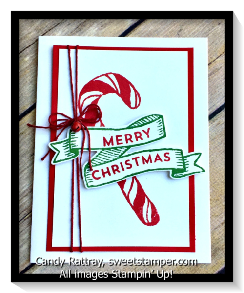 Banners for Christmas-Stampin' Up!