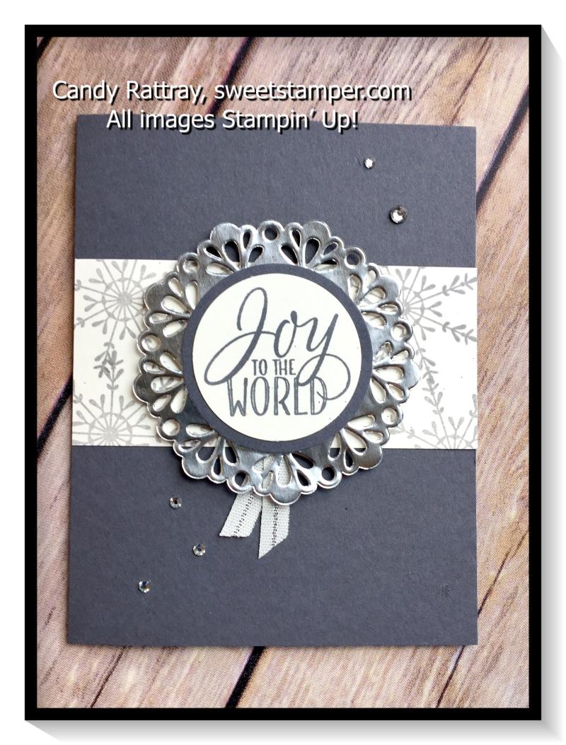 Tin of Tags Joy Card