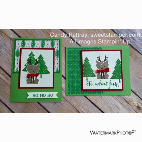 Foxy Friends-Stampin' Up!