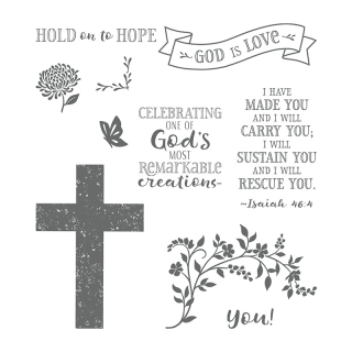 Hold On To Hope stamps