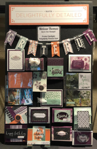 Melissa Thomas, Delightfully Detailed-Stampin' Up!