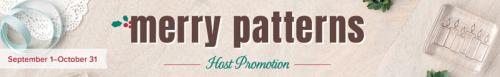 merrypatternshostpromotionstampinup
