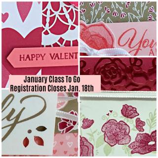 Forever Lovely Card Class