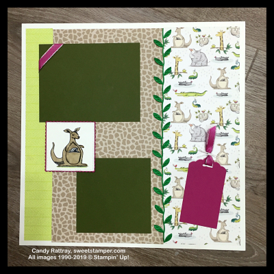 animaloutingstampinupscrapbookpages