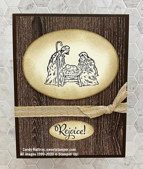 peacefulnativitystampinupcandyrattrayreligiouschristmascard
